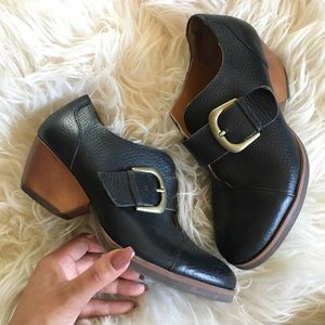 Kork leather shoe